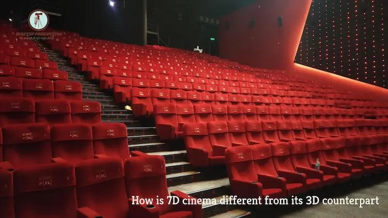 كيف تختلف السينما 7D عن نظيرتها 3D