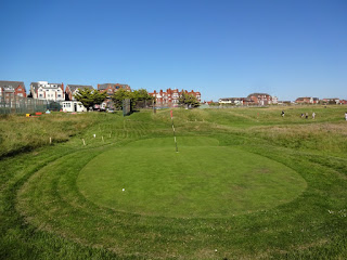 Hole 1 of the 18-hole MiniLinks course in Lytham St Annes