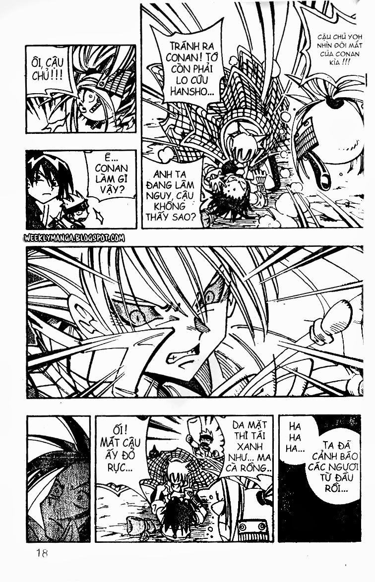 Shaman King [Vua pháp thuật] chap 98 trang 8