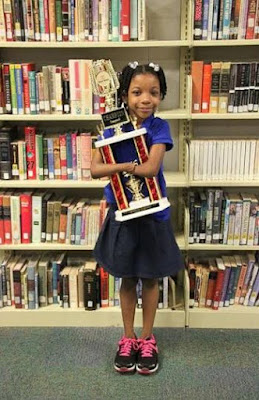 Anaya Ellick has no hands and uses her fore arms to write but she despite this she won a national handwriting competition