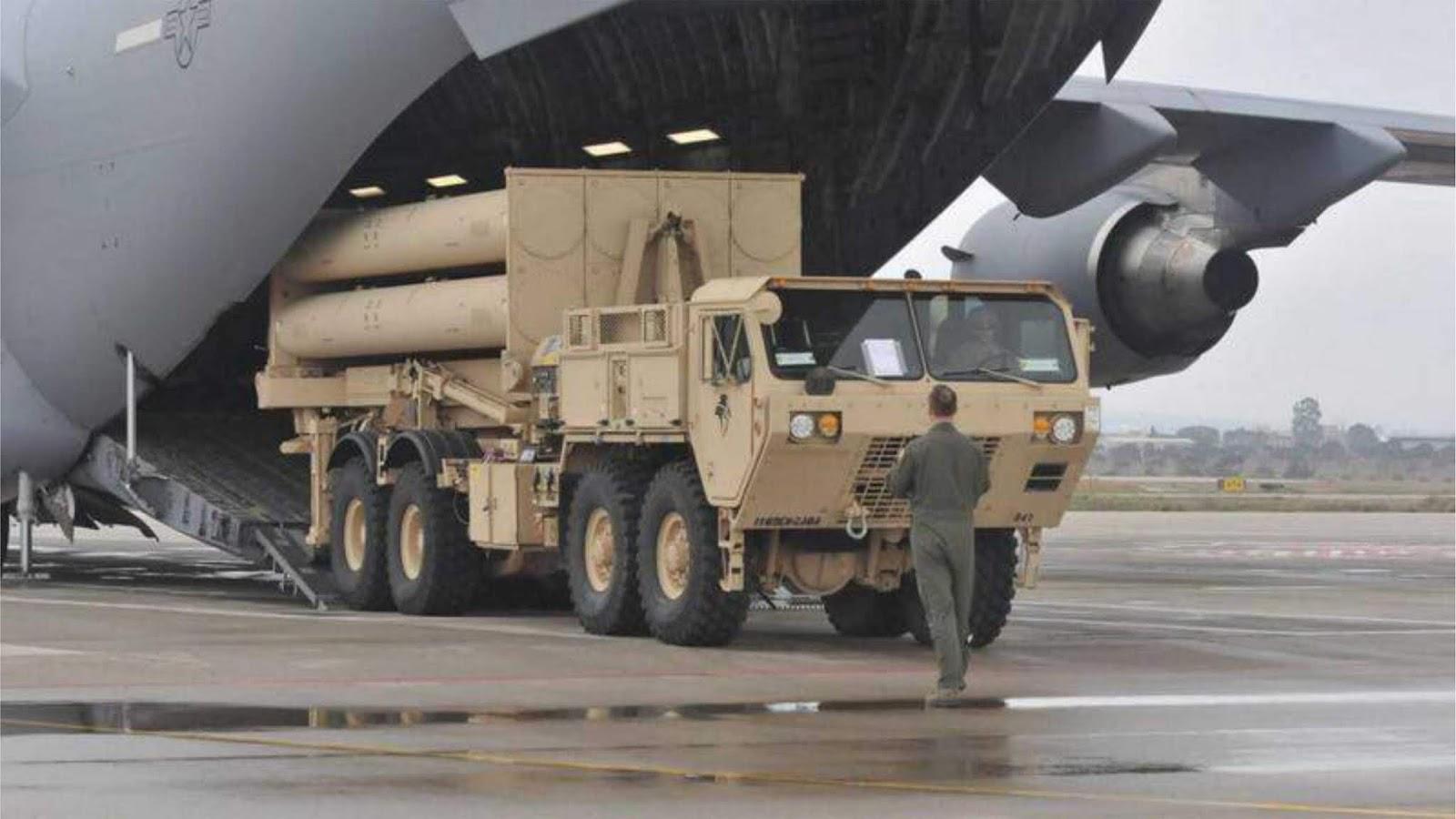 AS melakukan latihan kecepatan penyebaran sistem pertahanan rudal THAAD di Israel