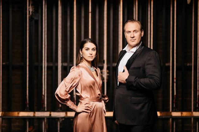 Irina and Lucas Meachem (Photo Nate Ryan)