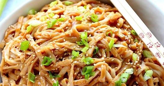 Thai Peanut Noodles Recipe - Delicious Vegan Keto Recipes -5755