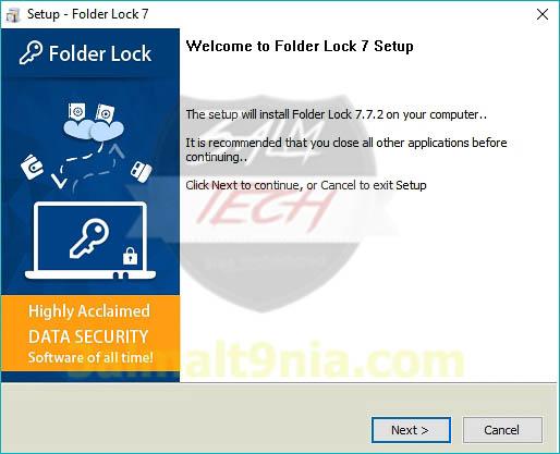 Folder Lock 7 - عالم التفنيه