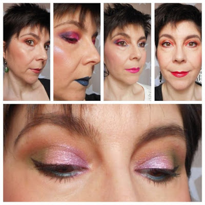 Looks Wynie: Goth Mermaid, Lilac Garden, Warm Olive, Foreign Flower y Coral Surprise.