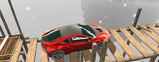 Sky Car Driving Stunt Impossible Track