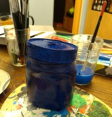 Recykling słoika - skarbonka diy ze słoika