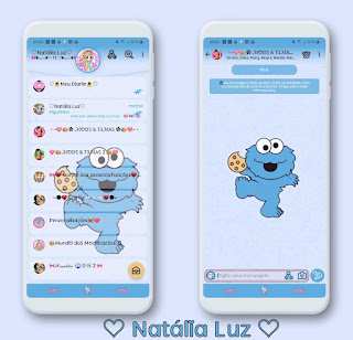 Random Theme For YOWhatsApp & Aero WhatsApp By Natalia