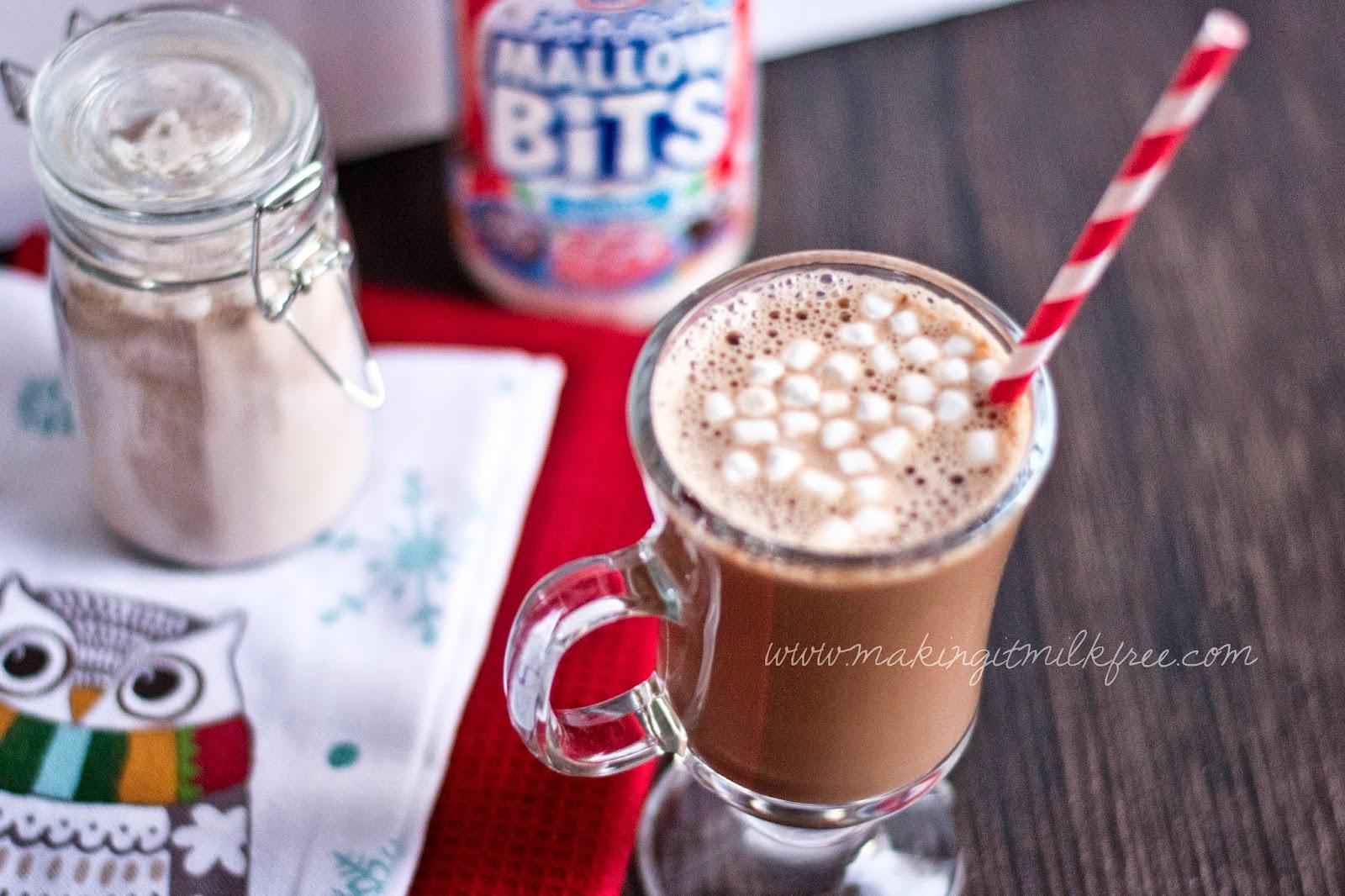 #dairyfree #glutenfree #hotcocoa #instantmix