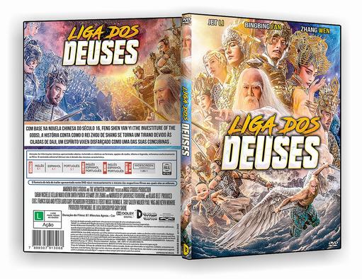 DVD-R Liga dos Deuses – AUTORADO