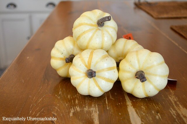 White Pumpkin Picks
