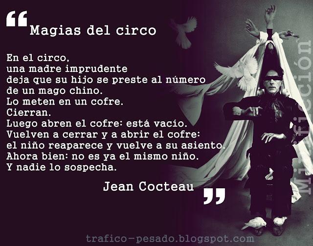 minificción Jean Cocteau