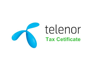 telenor-tax-certificate