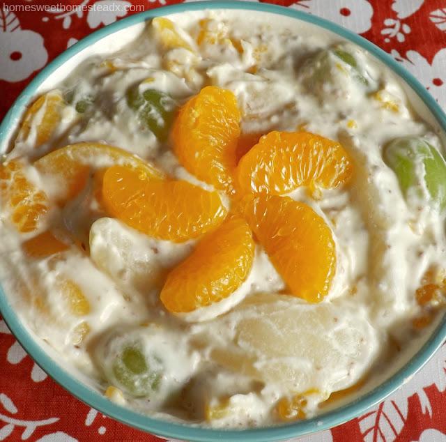 Home Sweet Homestead - Orange Creamsicle Fruit Salad