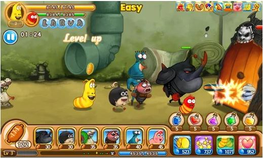Download Larva Heroes: Lavengers MOD APK