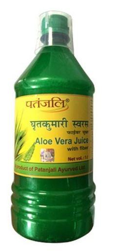 Patanjali Aloe Vera Juice Fiber, 1 l