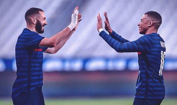 بنزيما يعلق علي إمكانية انتقال مبابي لريال مدريد