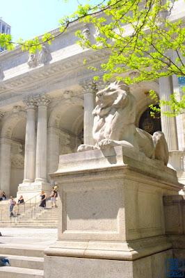 Le Chameau Bleu - Visite de la bibliothèque de New York