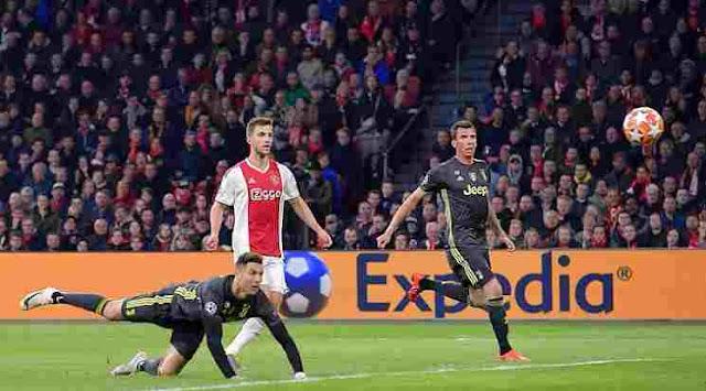 Highlights Pertandingan Liga Champions : Ajax VS Juventus