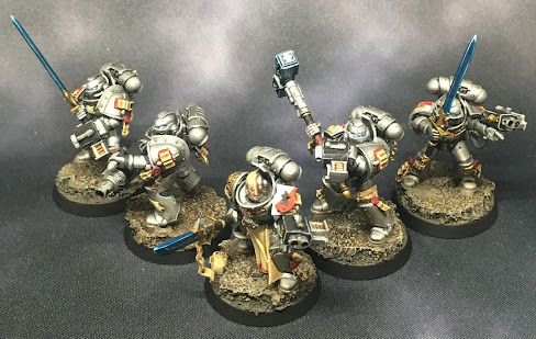 40K Grey Knights Strike Squad