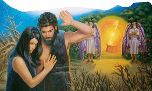 Adão falhou na missão que Deus lhe confiou! Foram expulsos do jardim Èden