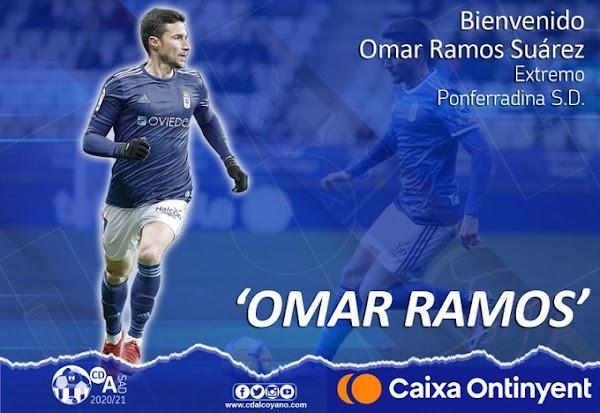 Oficial: CD Alcoyano, firma Omar Ramos