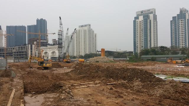 Tiến độ xây dựng dự án Sunshine Empire Hà Nội - tận hưởng vườn nướng BBQ rộng gần 1000m2