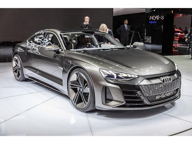 Audi etron gt india