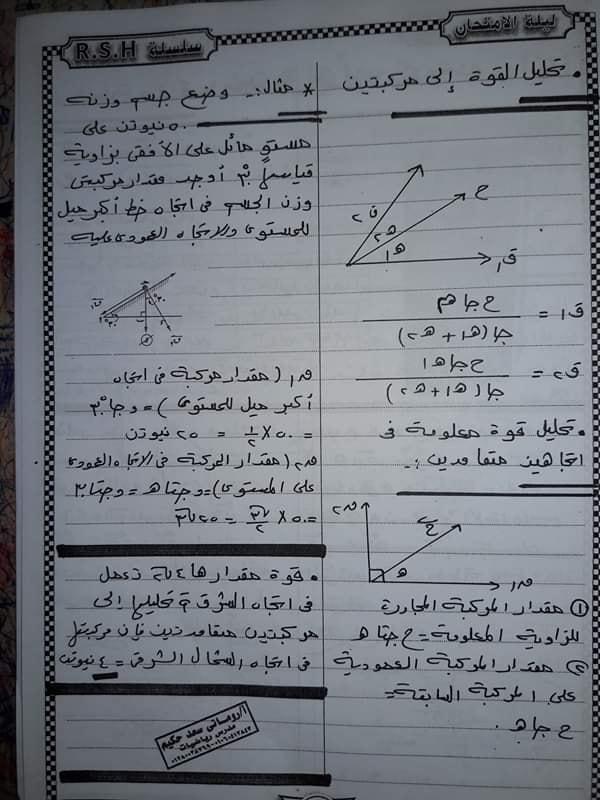 مراجعة تطبيقات الرياضيات تانية ثانوي مستر / روماني سعد حكيم 3