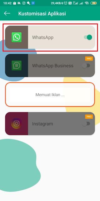Cara Mengubah Gelembung Whatsapp - 1