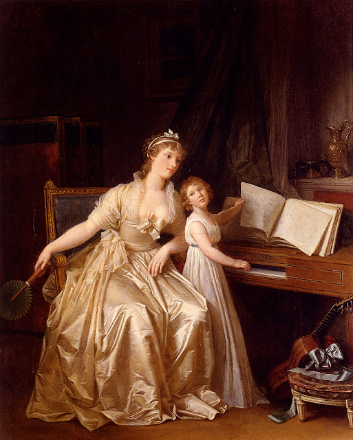 Marguerite Gerard - La Leccion de Piano - 1785–87