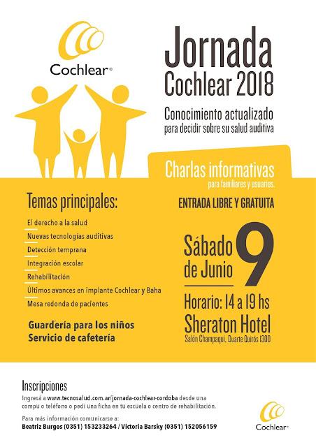 Jornada Cochlear en Córdoba: Todo lo que tenes que saber sobre la audición