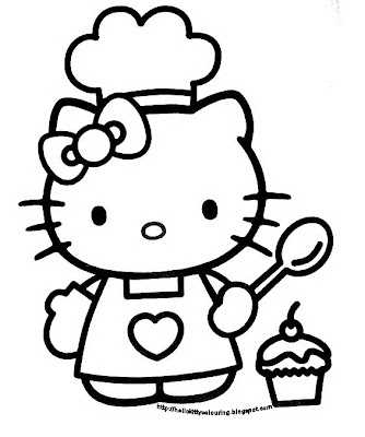 Hello Kitty Colouring Pages Christmas Print Colorings Net