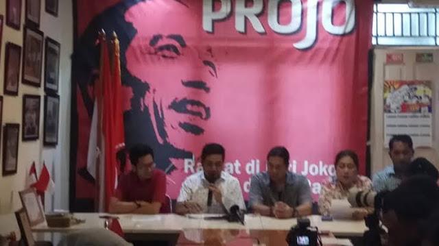 Prabowo Masuk Kabinet Jokowi, Projo Mundur dari Pamit