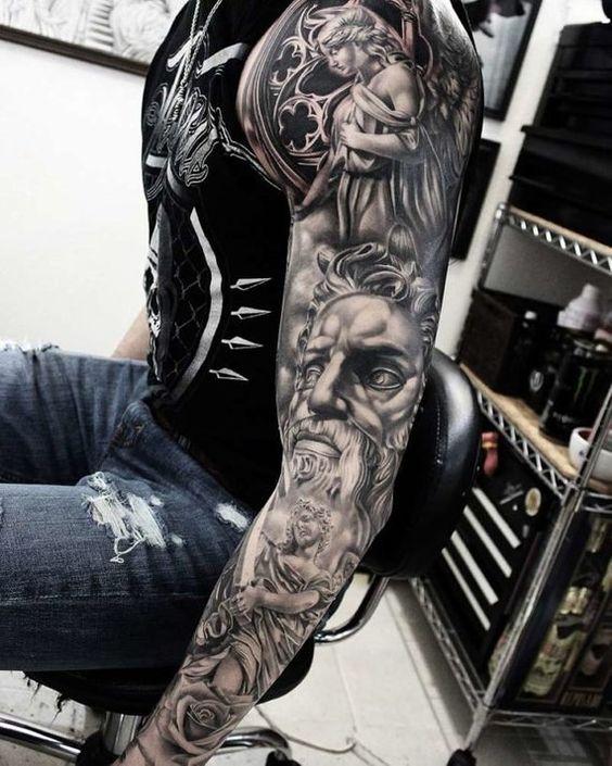 Badass Sleeve Tattoos For Men