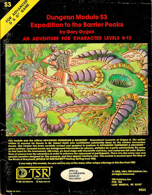 Cover to S3 Expedition to the Barrier Peaks
