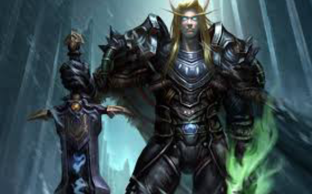 World of warcraft gameplay part 1 as a blood elf death knight