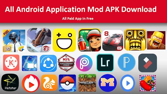 Mode APK Application Kaha Se Download Kare ? Download All Mod Apk free ( यहां मिलेगा सभी Apps का Mod apk )