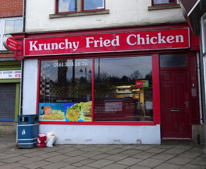 Krunchy Fried Chicken on Market Street in Stalybridge