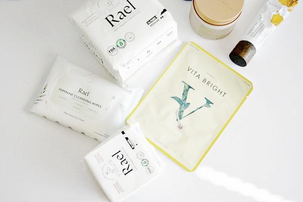 feminine hygiene pads