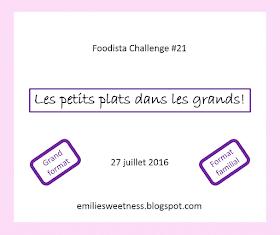 Foodista Challenge #21: Annonce du thème et inscriptions!