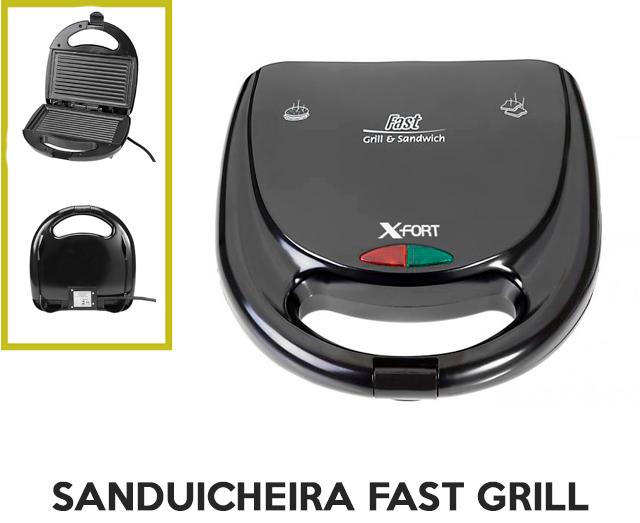 Sanduicheira Fast Grill X-Fort