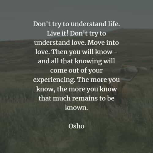 Famous quotes and sayings by Osho