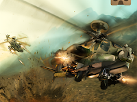 Download VR Battle Helicopters MOD APK Android Terbaru