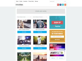 Digezena - Responsive Blogger Template
