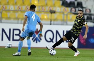 فيديو - بلايلي يتالق في اول لقاء له مع نادي قطر امام الوكرة