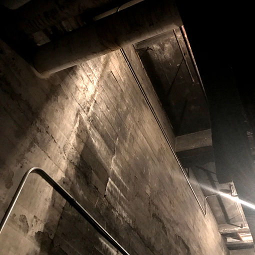"Fox Theatre Ghost Tour 2018 | ""Coal Room"" | Photo: Travis Swann Taylor"