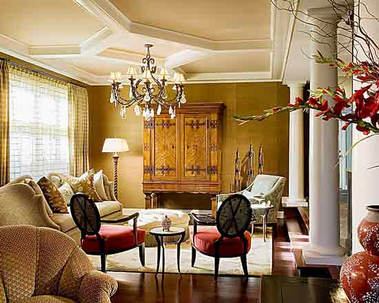 Modern Furniture: Traditional Living Room Decorating Ideas