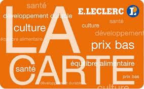 Carte Leclerc - concours