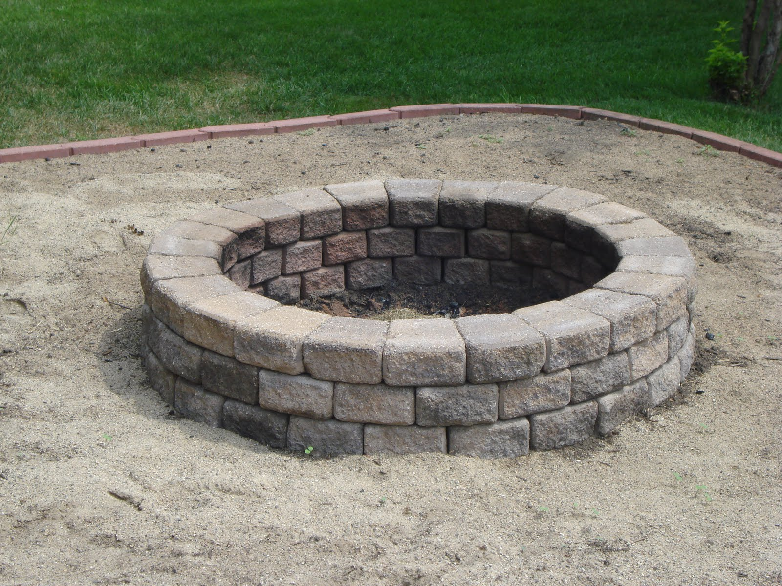 Sand Fire Pit